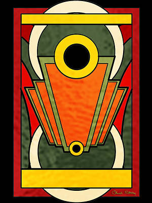 Digital Art - Deco Design 22 by Chuck Staley