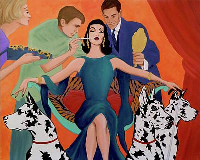 Painting - Deco Diva by Tony Franza