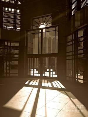 Photograph - Deco Entrance by Jenny Revitz Soper