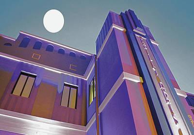 Reconstruction Digital Art - Deco Evening by Claudia O'Brien