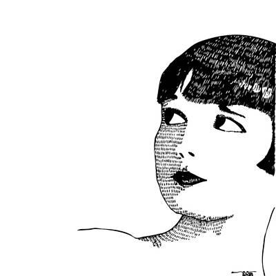 Deco Women Art Print by Karl Addison