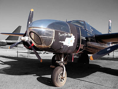 Photograph - Decommissioned A-26c Invader by Glenn McCarthy Art and Photography