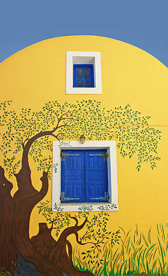 Photograph - Decorated House by Meirion Matthias