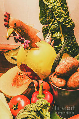 Variation Photograph - Decorated Organic Vegetables by Jorgo Photography - Wall Art Gallery