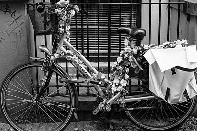 Photograph - Amsterdam Bicycle by Aidan Moran
