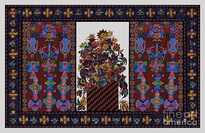 Tribal Art Painting - Decorative Art 455g by Gull G