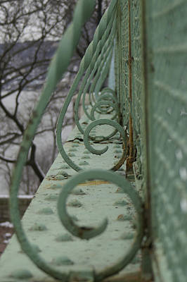 Photograph - Decorative Foot Bridge by Henri Irizarri
