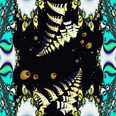 Digital Art - Decorative Fractal Tile 6 by Sarah Loft