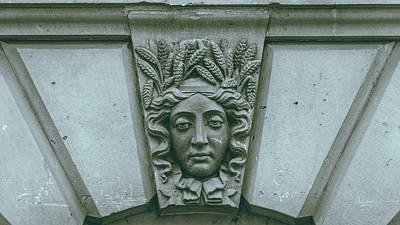 Photograph - Decorative Keystone Architecture Details F by Jacek Wojnarowski
