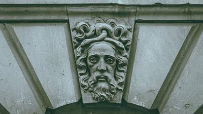 Photograph - Decorative Keystone Architecture Details G by Jacek Wojnarowski
