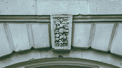 Photograph - Decorative Keystone Architecture Details L by Jacek Wojnarowski