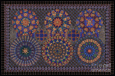 Tribal Art Painting - Decorative Pattern 1109i by Gull G