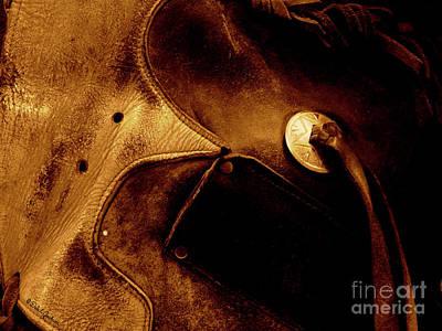 Photograph - Decorative Saddle Concho  by Dale E Jackson