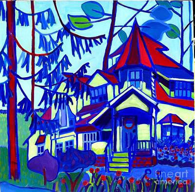 Painting - Decordova Carriage House by Debra Bretton Robinson