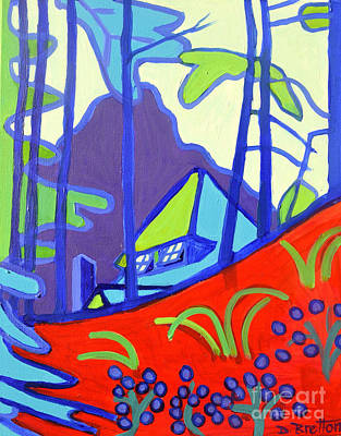 Painting - Decordova Hill And Carriage House by Debra Bretton Robinson