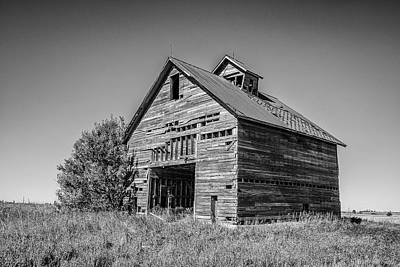 Photograph - Decrepit Barn by John McArthur