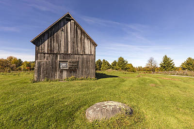 Photograph - Decrepit Barn by Josef Pittner