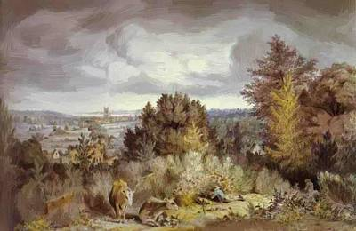 Painting - Dedham Church And Vale 1800 by Constable John