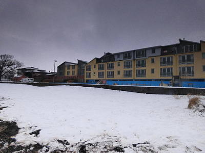 Photograph - Dedicated Snowman 2 by Nik Watt