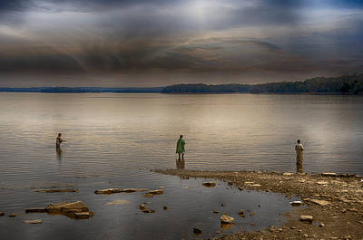 Percy Priest Lake Photograph - Dedication by Steven Michael