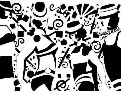 Dedication To Bob Fosse - Dance I Art Print by Forartsake Studio