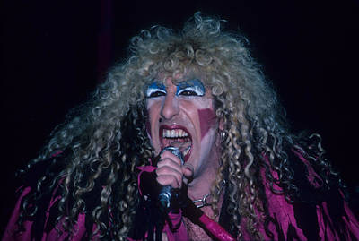 Dee Snider Of Twisted Sister Art Print by Rich Fuscia