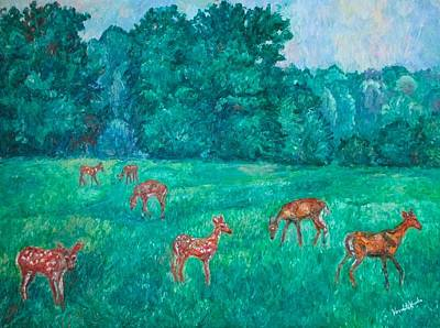 Photograph - Deer At The Peaks Of Otter by Kendall Kessler