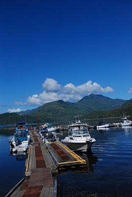 Photograph - Deep Blue #2 by Nootka Sound