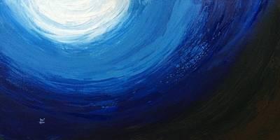 Deep Blue Sea 2  Original by Aarti Bartake