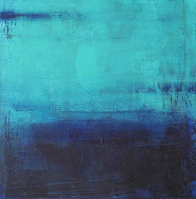 Painting - Deep Blue Sea by Nicole Nadeau