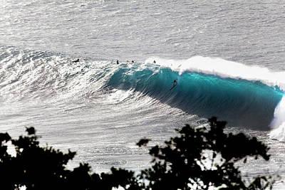 Deep Blue Photograph - Deep Blue by Sean Davey