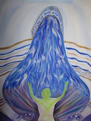 Deep Calls To Deep Art Print by Wendy Smith