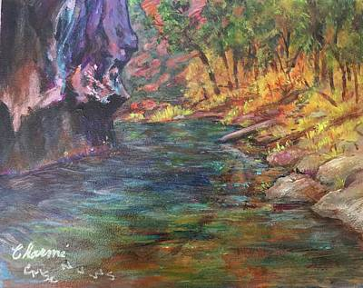 Painting - Deep Canyon by Charme Curtin
