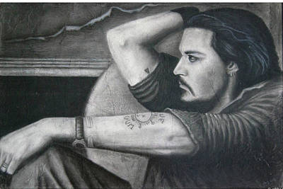 Drawing - Deep Contemplation  by Abby Reid