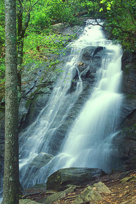 Photograph - Deep Creek Falls Smoky Mountains by John Burk
