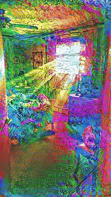 Deep Dream Art Print