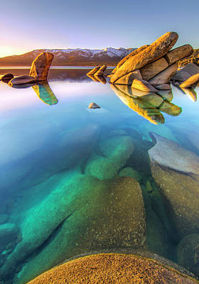 Sand Harbor Photograph - Deep Dreaming by Steve Baranek