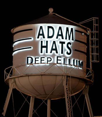 Photograph - Deep Ellum Adam Hats V2 030818 by Rospotte Photography