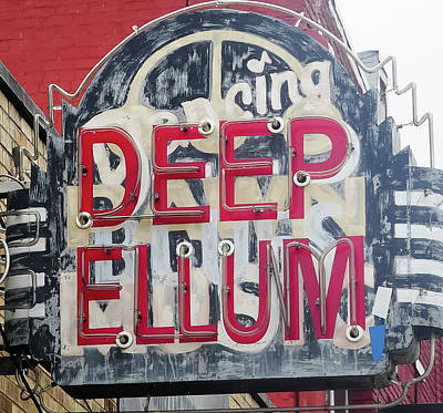 Robert Bellomy Royalty-Free and Rights-Managed Images - Deep Ellum Dallas Texas by Robert Bellomy