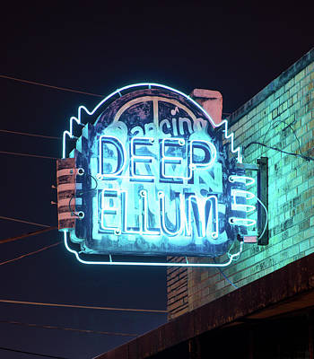 Photograph - Deep Ellum Neon 050318 by Rospotte Photography
