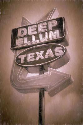 Dallas Photograph - Deep Ellum Pink by Joan Carroll
