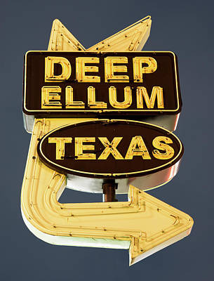 Photograph - Deep Ellum Poster 050318 by Rospotte Photography
