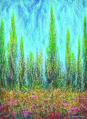 Digital Art - Deep Forest Atmospheres by Joel Bruce Wallach