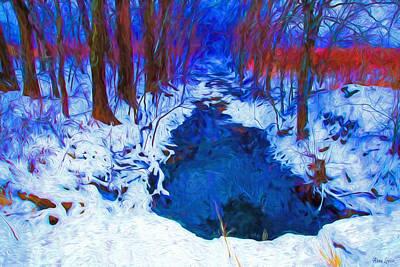 Photograph - Deep Forest Creek Magic by Anna Louise