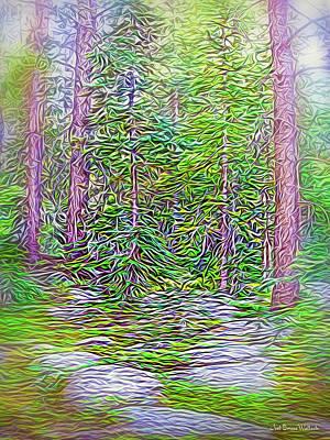 Digital Art - Deep Forest Discoveries by Joel Bruce Wallach