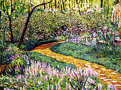 Painting - Deep Forest Garden by David Lloyd Glover