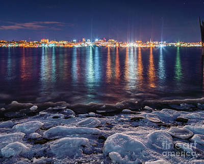 Maine Landscape Photograph - Deep Freeze Portland by Benjamin Williamson