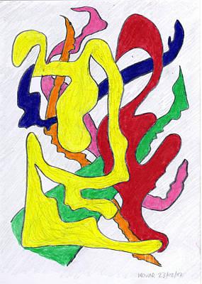 Deep Impression 17073 Art Print