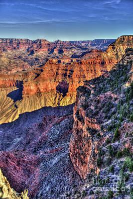 Photograph - Deep In Beauty 2 Grand Canyon National Park Arizona Art by Reid Callaway