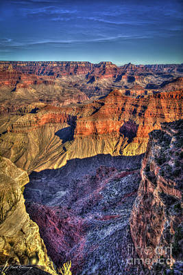 Photograph - Deep In Beauty Grand Canyon National Park Arizona Art by Reid Callaway